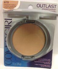 CoverGirl Outlast Pressed Powder #610 Translucent Medium New.