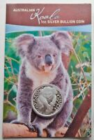 2007 KOALA Silver Coin on Card