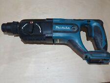 Makita BHR240 18V LXT range SDS rotary hammer drill / chisel