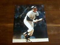 MICKEY MANTLE NEW YORK YANKEES HOF SIGNED AUTO COLOR 8 X 10 PHOTO ALL AMERICAN
