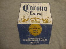 Corona Extra Mexico Mexican Import Beer Distressed College Party Gray T Shirt M