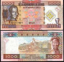 Guinea 1000 Franc 2010 P43 Mint Unc