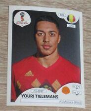 "Image Sticker PANINI #512 ""Youri TIELEMANS"" (Belgium) FIFA World Cup Russia 2018"