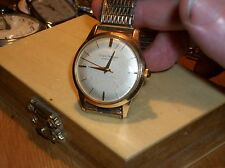 Vintage Men's Girard-Perregaux 10K gold filled case. Reconditioned, working well