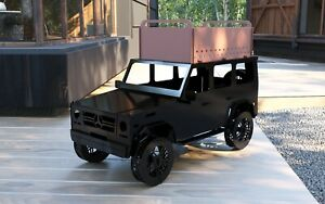 G WAGON - Truck -  Fire Pit - BBQ - DXF Files for CNC Plasma, Laser
