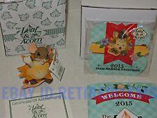 2015 MEMBERSHIP KIT New CHARMING TAILS Hello Sunshine Smiles Figurine mice tales