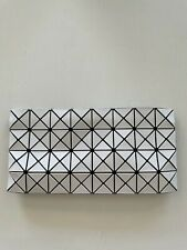 Issey Miyake Bao Bao Clutch Prism Zipped White