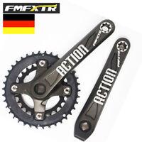 FMFXTR 2X10-Fach 104BCD 64/104 mm Kurbel Kurbelgarnitur Kettenblatt MTB Fahrrad