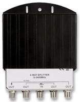 SPLITTER 4WAY OUTDOOR Aerial & Satellite Equipment Signal Splitter, SPLITTER