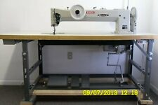 Long Arm Heavy Duty Double Needle Sewing Machine Consew 744r30
