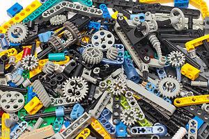 ☀1/4 POUND LB LEGO Technic NXT liftarms axles gears pins beams extenders bushing