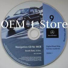 01 02 MERCEDES BENZ M ML320 ML430 ML500 ML55 AMG NAVIGATION CD 9 AL FL GA SC NC