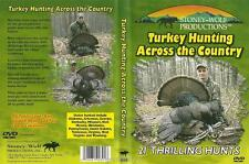 Turkey Hunting Across the Country 21 Thrilling Hunts in 13 States DVD NEW
