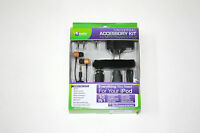 10-in-1 Accessory Kit for iPod iPhone MP3 Player Earbuds Wall Car Charger Strap