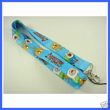 Lovely ADVENTURE TIME Neck Lanyard Strap Cell Mobile Phone,ID Card,Keys Badge