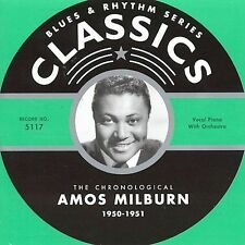 AMOS MILBURN 1950-51 CLASSICS CD NEW SEALED LONG OUT OF PRINT