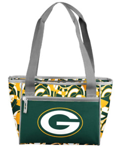 Green Bay Packers Fit Insulated Lunch Cooler Tote Bag