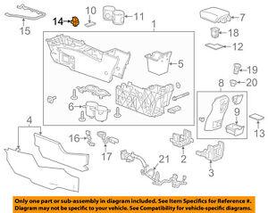 Buick GM OEM 12-17 Verano CENTER CONSOLE-Parking Brake Switch 22747745
