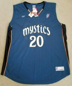 ALANA BEARD WNBA OFFICIAL LICENSED WASHINGTON MYSTICS REPLICA JERSEY SIZE XL