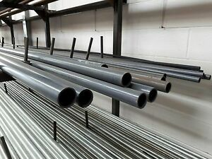 """GREY PVC SOLVENT WELD CLASS E PIPE 1/2"""" - 3"""" 10 BAR RATED FISH/POND/INDUSTRIAL"""