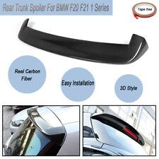 For BMW F20 F21 1 Series 3D Real Carbon Fibre Rear Top Roof Lip Spoiler
