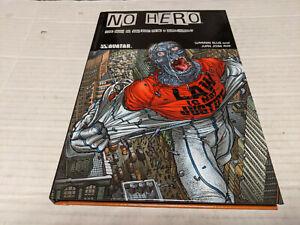 NO HERO by Warren Ellis & Juan Jose Ryp (2010, Hardcover) DOUBLE SIGNED NEW