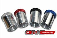 Black Aluminium Alloy Fuel Surge Tank 1.75L Dual Port Twin Bosch 044