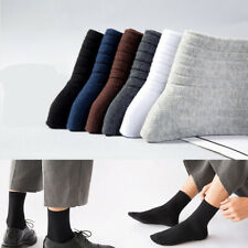 New Soft Warm Sweat Crew Socks Cotton High Tube Socks Deodorant Men Casual Socks