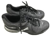 Puma Womens Cell Riaz Athletic Cross Trainer Running Shoes Black and Gray