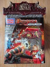 Mega Bloks Dragons Metal Ages ODAKU INVASION #9818 - New/Sealed