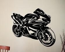Sport Motorbike Wall Sticker Motorcycle MotoGP Racing Vinyl Decal Art Decor 10mt