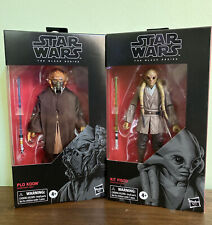 Star Wars Black Series Plo Koon # 109 And Kit Fisto # 112
