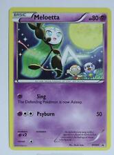 Pokemon Card - Meloetta - BW68 - Promo - Excellent
