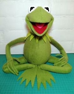 """Kermit the Frog Full Body Puppet w Arm Rods Professional 28"""""""
