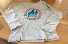 Kinder Langarmshirt Shirt Größe 98 / 104 impidimpi grau blau rot Hai