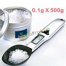 Digital-LCD 500g / 0.1g Gram Küche #R Lab Medical Löffelwaage Volume  Gewicht