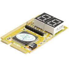 3IN1 Mini PCI PCI-E LPC PC Analyzer Tester Notebook Combo Debug Card
