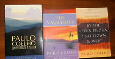 Paul Coelho x 3 Confessions of a Pilgrim & The Valkyries & By the River Pedra