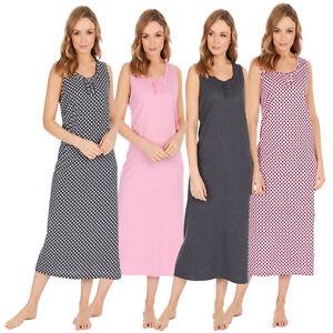 Ladies Women Nightdress Nightie Nightshirt Nightwear summer WEAR SLEVELESS