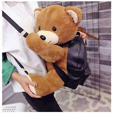 Teddy Bear Backpack Korean Bag Small