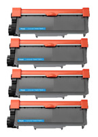 4 Pack TN660 Toner Cartridge for Brother TN630 HL-L2320D L2340DW MFC-L2700DW