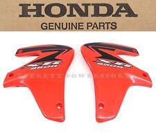 New Honda Radiator Shroud Set 00-07 XR650 R OEM Left Right Plastic (Notes) #V92