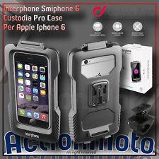 Supporto Custodia Moto Cellular Line Pro Case per Apple Iphone 6 Manubr tubolari