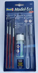 REVELL 29620 Model Set Plus PAINTING TOOLS 3 x Brushes Cleaner & 2 x Pipettes