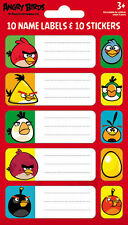 Official Angry Birds - Book Name Labels & Sticker Pack