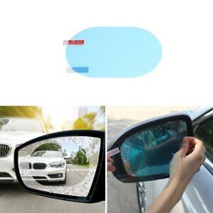 2Pcs Car Rearview Mirror Protective Film Anti Fog Rainproof Rainproof Anti-glare