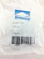 NEW! DIAMOND ROLLER CHAIN # 80 C-7334-P OFFSET LINK  FAST SHIP!!! (H157)