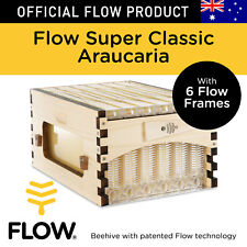 THE OFFICIAL Flow Hive Super Classic Araucaria 6 Beekeeper Honey Frames Tubes