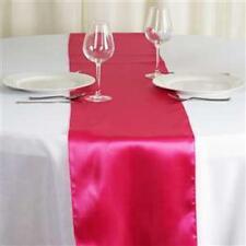 New listing Fuchsia Satin Table Runner