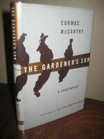 The Gardener's Son Cormac McCarthy SCREENPLAY 1st Edition First Printing CLASSIC